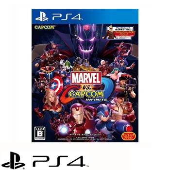 PS4 漫威英雄大戰卡普空:無限 Marvel vs. Capcom: Infinite-亞中版