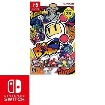 任天堂 Nintendo Switch 超級轟炸超人R Super Bomber Man  R - 日文版(HAC-P-AAB8A)