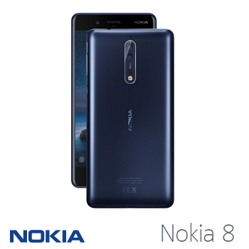NOKIA 8 - 緞面藍