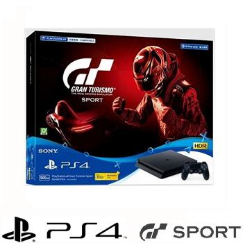 【500G】PS4 跑車浪漫旅 競速 GT Sport 同捆組