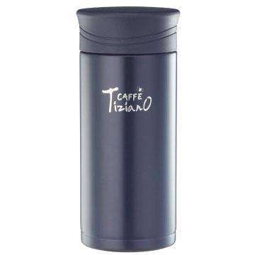 Tiziano 400ml不锈钢保温保冷真空杯-黑色(TA-H400PL)