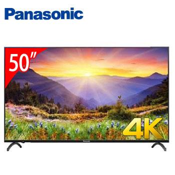 Panasonic 50型 4K智慧聯網顯示器(含電視視訊盒)