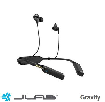 JLab Gravity蓝牙耳机 EBGRAVITYRBLK