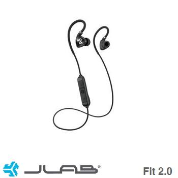 JLab Fit 2.0蓝牙运动耳机-黑(EBFIT2)