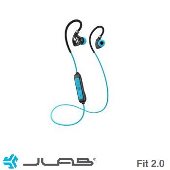 JLab Fit 2.0蓝牙运动耳机-蓝(EBFIT2)