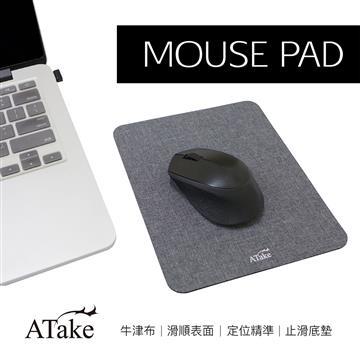 ATake 牛津布鼠垫-灰(SMP-119GR)