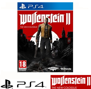 PS4 德军总部 2:新巨像 Wolfenstein II: The New Colossus(中文版)