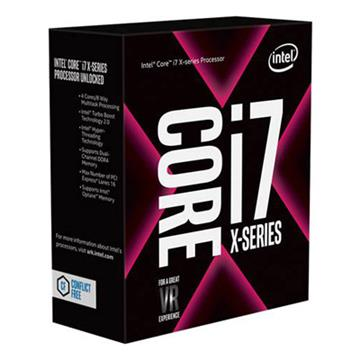 Intel CPU Core i7-7800X(超頻)