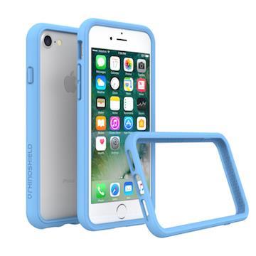 【iPhone 8 / 7】RHINO SHIELD犀牛盾防摔邊框 - 北卡藍色
