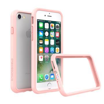 【iPhone 8 / 7】RHINO SHIELD犀牛盾防摔邊框 - 裸粉色