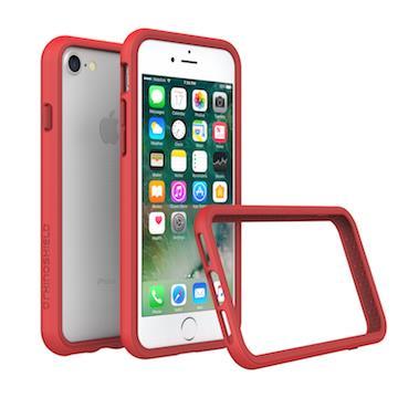 【iPhone 8 / 7】RHINO SHIELD犀牛盾防摔邊框 - 紅色