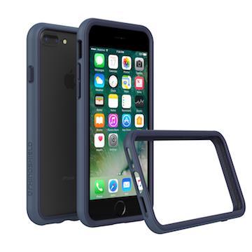 【iPhone 8 Plus / 7 Plus】RHINO SHIELD 犀牛盾防摔邊框 - 靛藍色