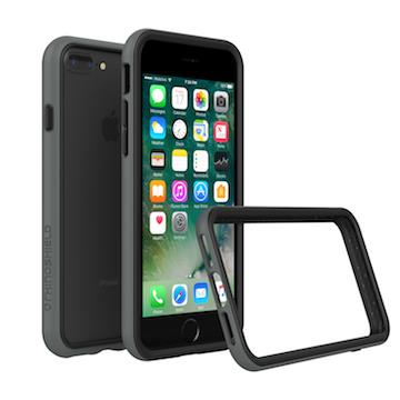 【iPhone 8 Plus / 7 Plus】RHINO SHIELD 犀牛盾防摔邊框 - 深灰色