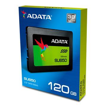 【120G】威刚 ADATA 2.5吋 3D NAND固态硬盘(ASU650SS-120GT-C)