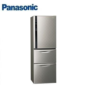 Panasonic 385公升三门变频冰箱