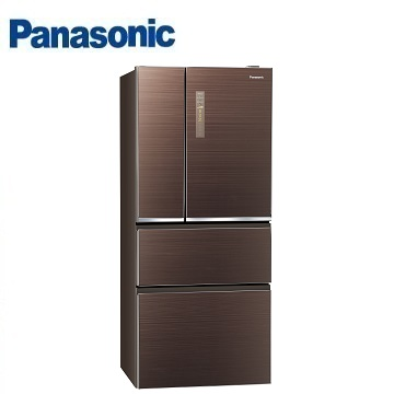 Panasonic 610公升玻璃四门变频冰箱(NR-D619NHGS-T(翡翠棕))