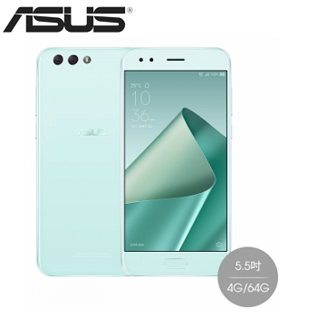 【4G/64G】ASUS Zenfone4 5.5 吋 八核心 FHD 4G LTE手機 -  薄荷綠