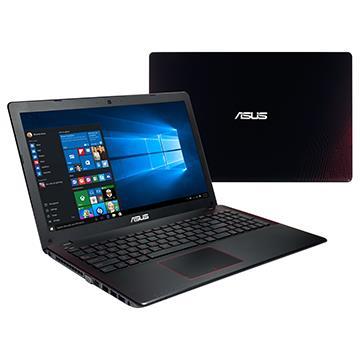 ASUS X550JX 筆記型電腦 黑紅