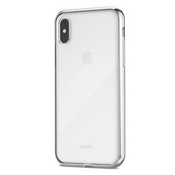 【iPhone X】Moshi Vitros 超薄透亮背殼-銀白