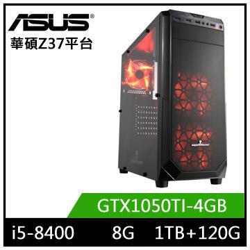 華碩Z370平台[鬥魂英雄]i5六核獨顯電玩機