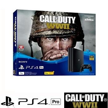 【同捆組】PS4 Pro 決勝時刻:二戰 - 中文版 Call of Duty: WWII