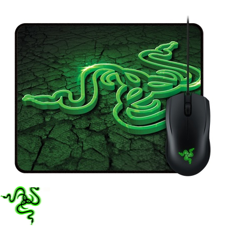 【控制版】雷蛇 Razer Abyssus 地狱狂蛇鼠标2000dpi + 鼠标垫组
