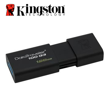 【128G】Kingston金士頓DataTraveler100 G3 USB3.0隨身碟