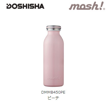 Doshisha MOSH 450ml保温瓶-蜜桃粉红(LSDSDMMB450PK)