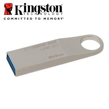 【64G】金士顿Kingston DataTraveler SE9 G2随身碟(DTSE9G2/32GB64)