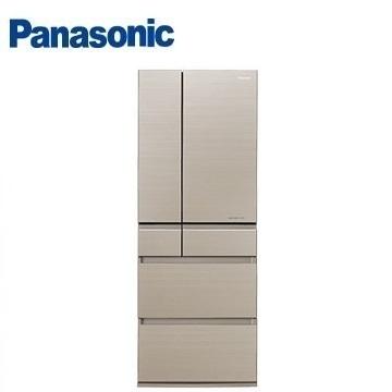 Panasonic 600公升六门变频玻璃冰箱(NR-F603HX-N1(翡翠金))