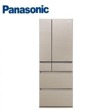 Panasonic 550公升六门变频玻璃冰箱(NR-F553HX-N1(翡翠金))