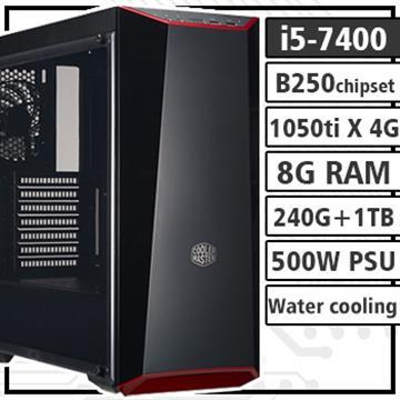 [聖戰騎士]-7代Ci5 GTX1050Ti 水冷組裝電腦