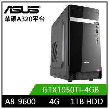 華碩A320平台[星域少帥]A8四核獨顯電玩機