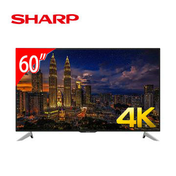 SHARP 60型4K日本原装联网液晶电视(LC-60UA6800T)