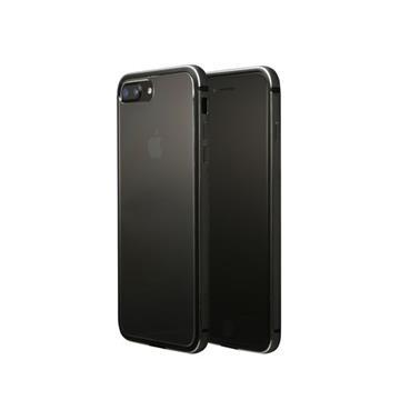 【iPhone 8 Plus / 7 Plus】OVERDIGI 雙料鋁合金邊框 - 黑(ODLH)