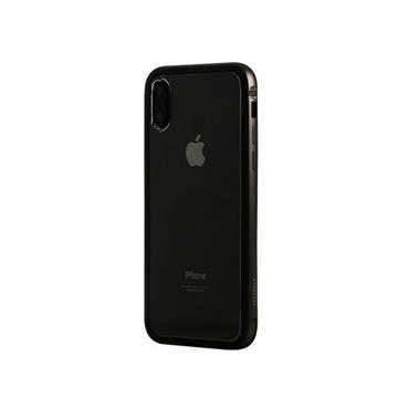 【iPhone X】OVERDIGI 雙料鋁合金邊框 - 黑(OVXR)