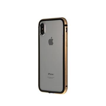 【iPhone X】OVERDIGI 雙料鋁合金邊框 - 金(OVXG)