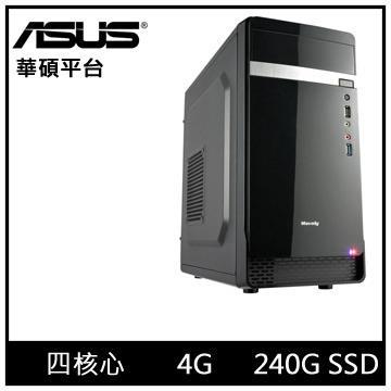 華碩平台[特務武神]四核效能SSD電腦