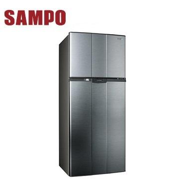 声宝 580公升双门冰箱(SR-A58G(K3)渐层银)