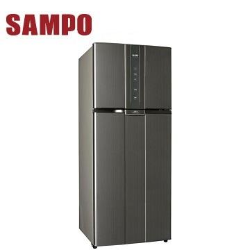 声宝 580公升双门变频冰箱(SR-A58D(K2)石墨银)