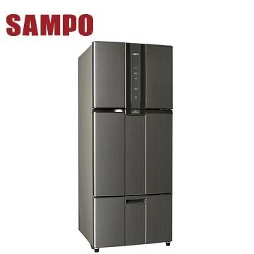 声宝 530公升三门变频冰箱(SR-A53DV(K2)石墨银)