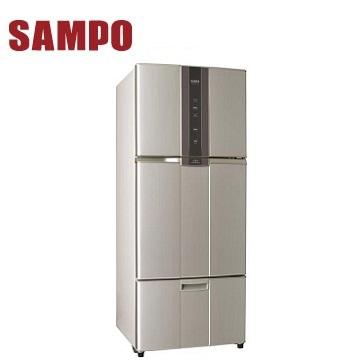 声宝 580公升三门变频冰箱 SR-A58DV(R6)紫璨银