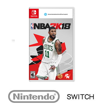 任天堂 Nintendo Switch NBA 2K18 中文一般版