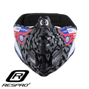RESPRO CINQRO 运动款多重防护口罩(Grey Large)