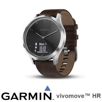 Garmin vivomove HR腕式心率指針腕錶 - 沉穩黑