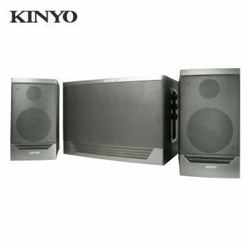 KINYO 2.1声道三件式超重低音蓝牙多媒体喇叭(KY-1759)