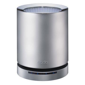 cado 藍光觸媒空氣清淨機-時尚銀