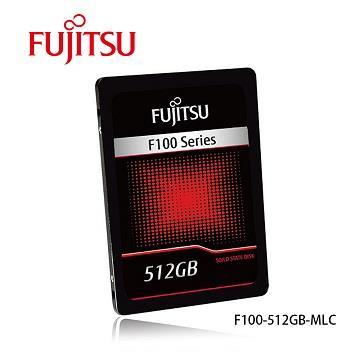 Fujitsu 2.5吋 512GB 固态硬盘(F100系列)(F100-512GB)