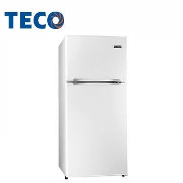 東元 125公升雙門冰箱