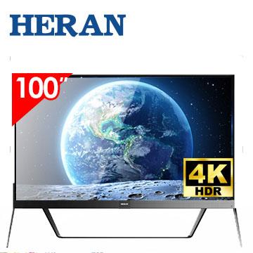 HERAN 100型4K 智慧联网显示器(HD-100UDF88)